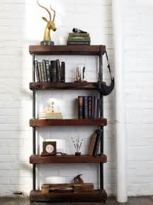 galvanized pipe shelves 10 diy industrial shelf ideas