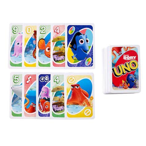 Disney Uno Mattel uno finding dory card at hobby warehouse
