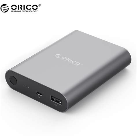orico power bank 10400mah qc 2 0 q1 black jakartanotebook