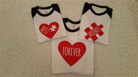 best for 3 and me set best friends shirts shirts boys