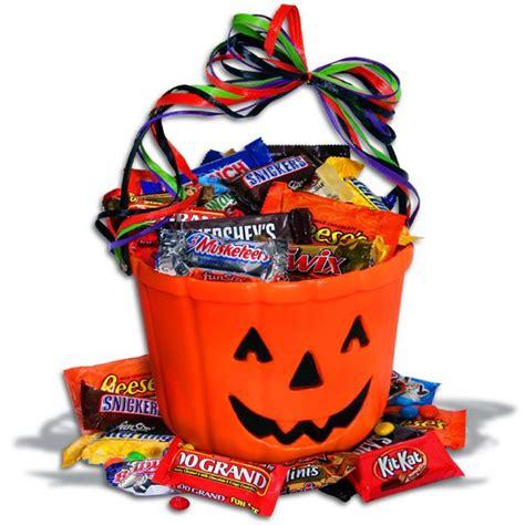 choc o lantern halloween gift basket