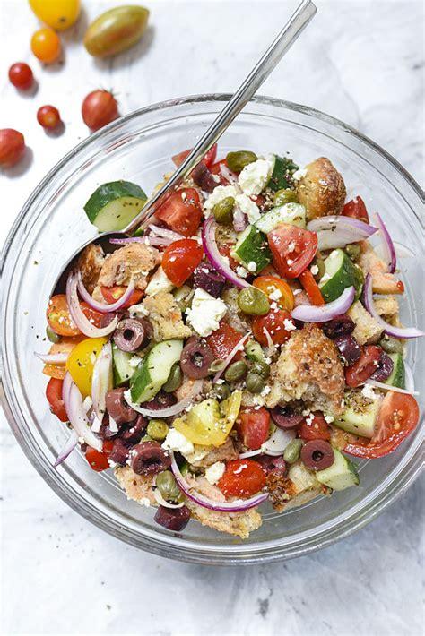 greek salad recipe ina garten greek salad recipes and greek panzanella salad greek panzanella salad fair ina
