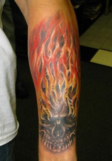 fire tattoos for men and tattoos for