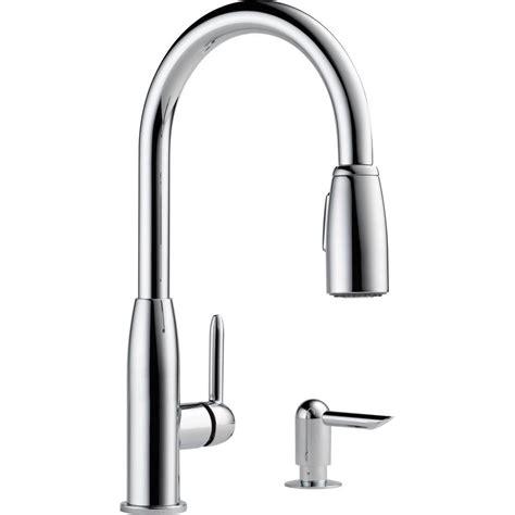peerless pull down kitchen faucet peerless nickel pull down faucet nickel peerless pull
