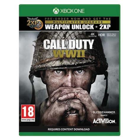 call of duty wwii ps4 playcentrum cz call of duty ww2 xbox one bazar použit 233 zbož 237