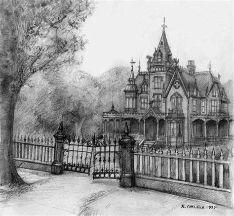 pencil drawings of houses victorian house drawing pencil pencil high victorian gothic by castshadowsstudio on deviantart