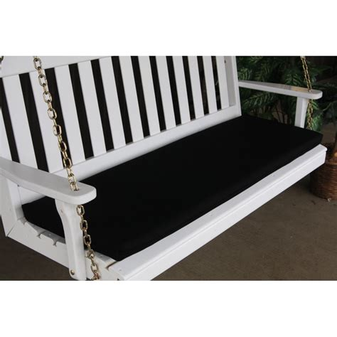 swing bench cushion 4 ft bench porch swing glider outdoor cushion