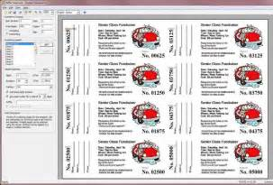 Template For Raffle Tickets With Numbers by Raffle Ticket Template Printable