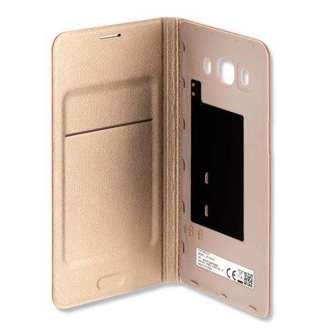 Samsung Flip Wallet Galaxy J5 2016 Original samsung flip ef wj510pfegww for galaxy j5 2016 gold price dice bg