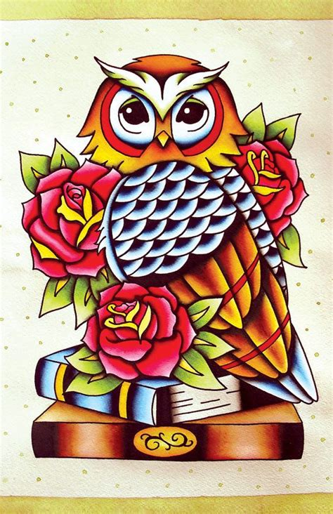 tattoo nightmares owl on books 25 best ideas about traditional owl tattoos on pinterest