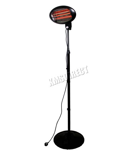Free Standing Electric Patio Heater Foxhunter Garden Outdoor Quartz 2kw Electric Patio Heater Free Standing Bbq New Ebay
