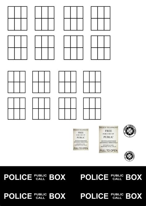 tardis template who and brew party pinterest