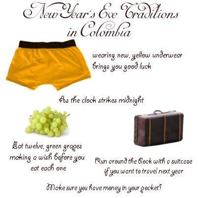 new year traditions what not to do new year s traditions in colombia learn more than