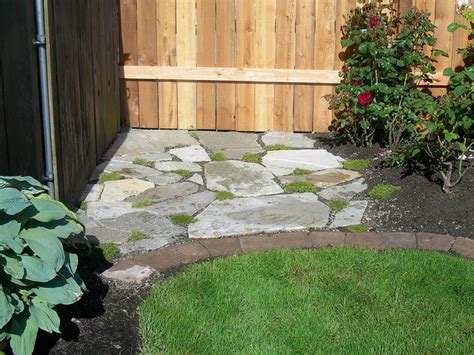 How To Clean Moss Patio by Flagstone Patio With Moss Edible Garden Ideas