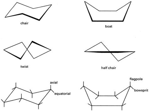 Cyclohexane Chair Conformation by Mcat Organic Chemistry 2012 Flashcards By Proprofs