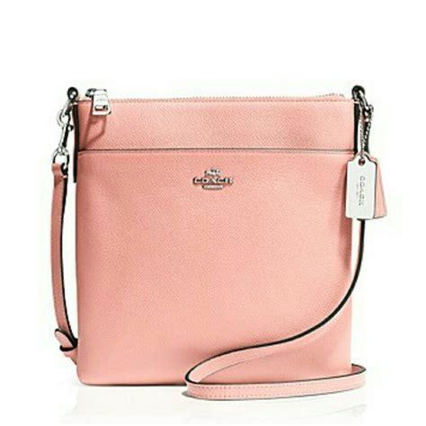 light pink coach wallet 62 off coach handbags coach light pink crossbody purse