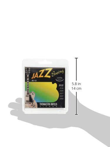 thomastik infeld jazz swing thomastik infeld js112 jazz guitar swing series 6 string