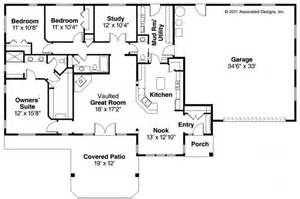 Lakehouse Floor Plans by Ranch House Plans Elk Lake 30 849 Associated Designs
