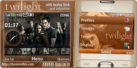twilight themes for nokia x2 01 twilight theme for nokia c3 x2 01 themereflex