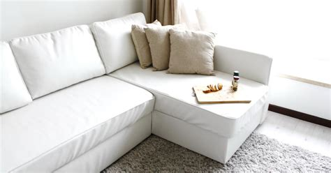 slipcovered sofa bed ikea manstad sofabed guide and resource page