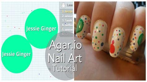 jessie nail art tutorial agar io nail art tutorial youtube