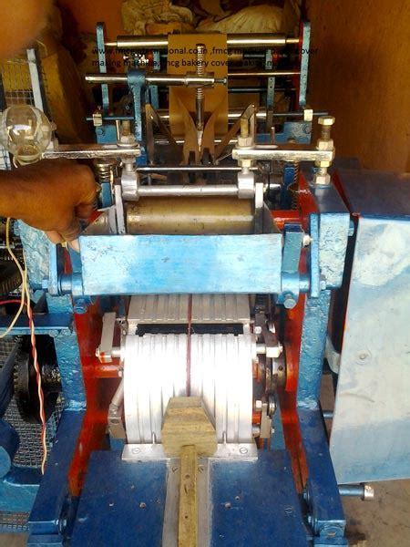 Paper Cover Machine - fmcg paper cover machine manufacturer in tiruvannamalai