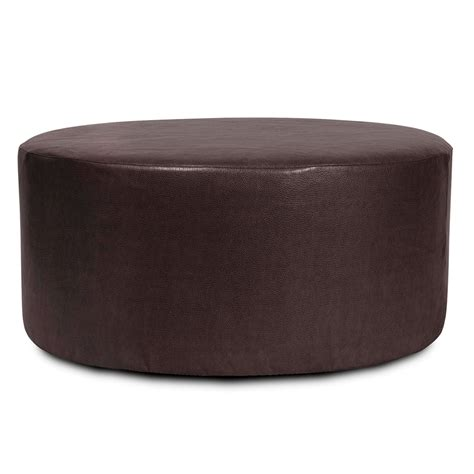 round ottoman covers avanti black universal 36 inch round ottoman cover howard