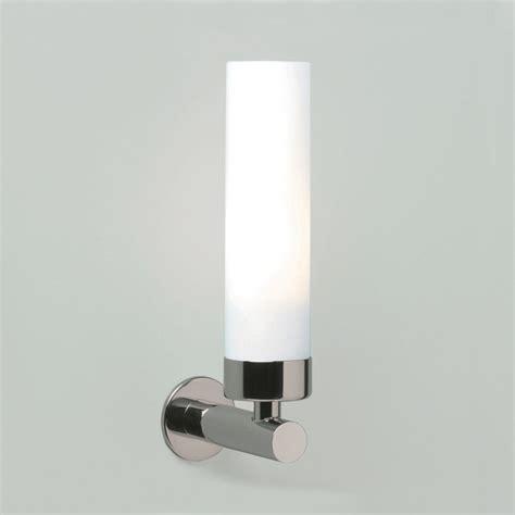 Insulated Bathroom Lights Modern Double Insulated Tubular White Opal Glass Bathroom
