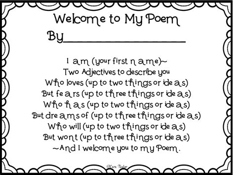 to my poem creative playground welcome to my poem back to school