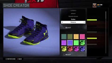 shoe creator nba 2k16 shoe creator armour curry 1 quot all