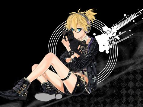 Len Hängend by Vocaloid 04 鏡音リン 鏡音レン 壁紙10種40枚 アニメ壁紙ストック 鏡音レン 壁紙画像