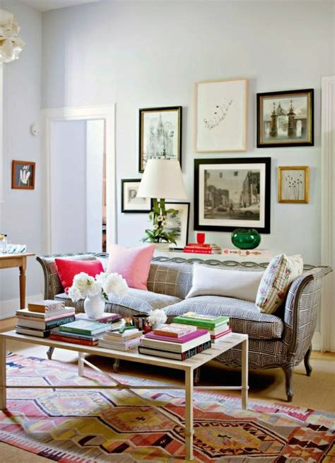 5 Ways To Decorate With Collages How To Decorate Living Room With Sofa