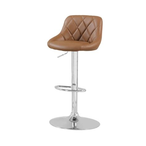 tufted bar stools furniture of america callham tufted adjustable leather bar