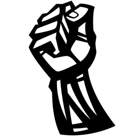 faust geballten protest symbol abbildung download der