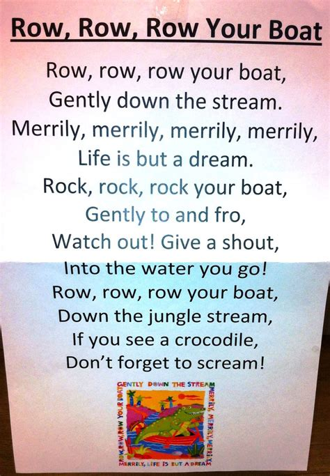 row your boat funny lyrics 25 best row row your boat ideas on pinterest boat