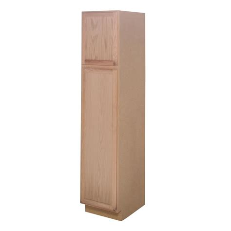 unfinished kitchen pantry cabinet assembled 18x84x24 in pantry kitchen cabinet in