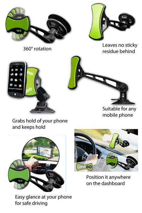 Gripgo Smartphone Mount Holder gripgo universal car mount phone hol end 8 1 2017 12 00 am