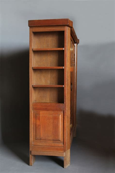 art armoire french art deco armoire by dudouyt at 1stdibs