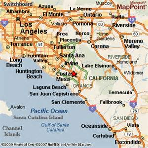 where is lake forest california on a map lake forest california
