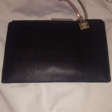Fossil Pouch Leather 44 fossil handbags fossil leather rfid large woven