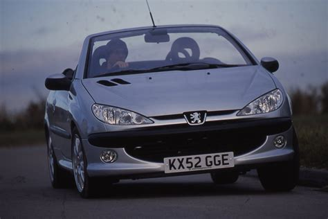 cheap peugeot peugeot 206 cc sub 163 1k best cheap convertibles auto