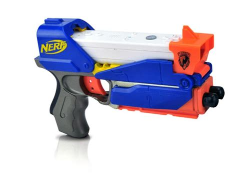nerf car shooter nerf switch shot ex 3 shoots darts and plays wii slashgear