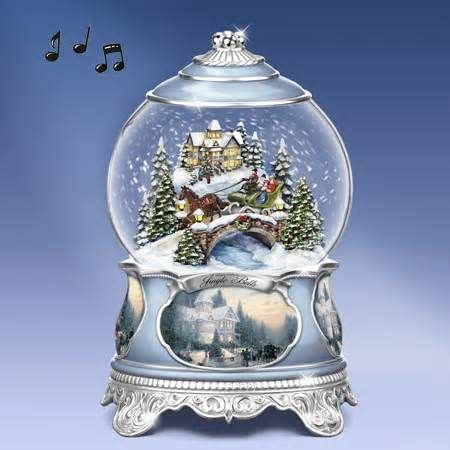 Bola Snowball Musik Box snow water globes a collection of other ideas to try