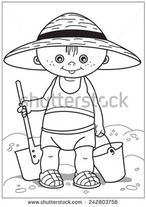 bucket hat coloring page t buckets stock photos royalty free images vectors