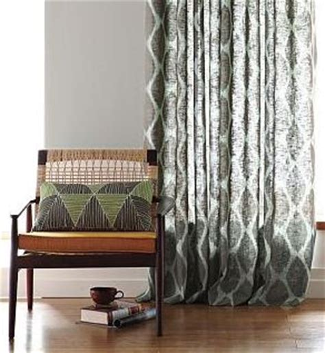 west elm ikat curtains trinity uptown window coverings fabric fascination ikat