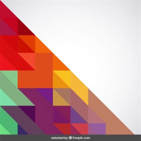 imagenes vectores de triangulos fondo con colores vivos tri 225 ngulos descargar vectores gratis