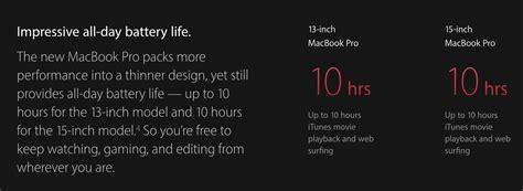 Macbook Pro Hari Ini berapa lama baterai pada macbook pro bisa bertahan