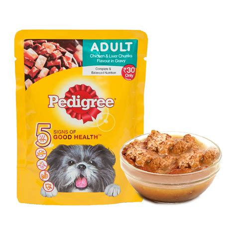 Pedigree Pouch pedigree treat pouch chicken liver chunks 80