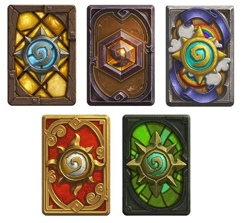make a hearthstone card hearthstone card back designs to be released mineski net