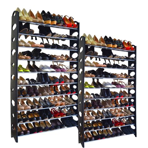 100 pair shoe storage shoe rack that holds 100 pairs of shoes cosmecol